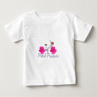 T-shirt Pour Bébé Vélo de poussoir de pétale