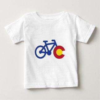 T-shirt Pour Bébé Vélo du Colorado