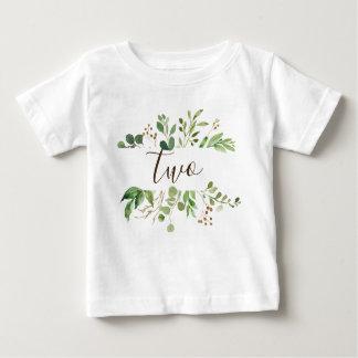 T-shirt Pour Bébé Verdure deux années de bébé