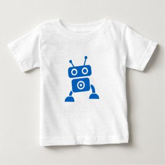 T-shirt Pour Bébé Vêtements de bébé de robot de bébé bleu