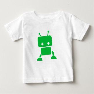 T-shirt Pour Bébé Vêtements verts de bébé de robot de bébé