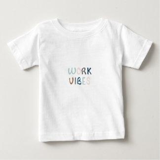 T-shirt Pour Bébé Vibraphone de propagation de travail