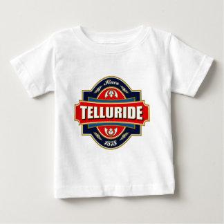 T-shirt Pour Bébé Vieil étiquette de tellurure