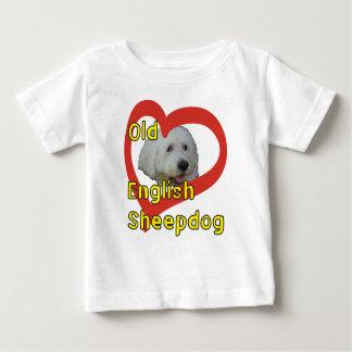 T-shirt Pour Bébé Vieux chien de berger anglais