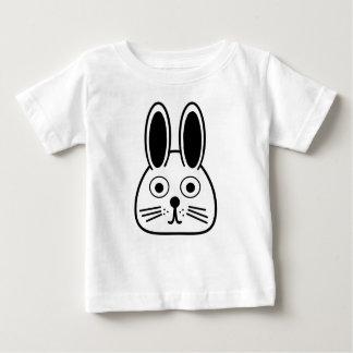T-shirt Pour Bébé visage de lapin