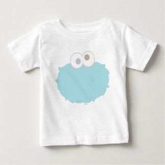 T-shirt Pour Bébé Visage de monstre de biscuit de bébé