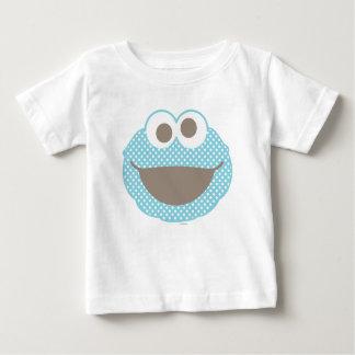 T-shirt Pour Bébé Visage de point de polka de monstre de biscuit