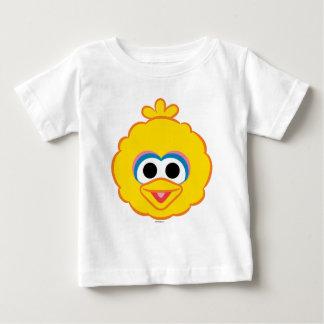 T-shirt Pour Bébé Visage de sourire 2 de grand oiseau