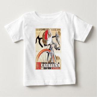 T-shirt Pour Bébé Visite 1943 de l'Espagne d'affiche de course de