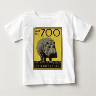 T-shirt Pour Bébé Visitez le zoo de Philadelphie
