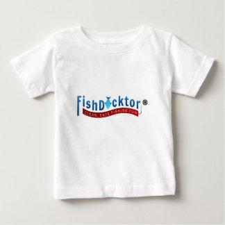 T-shirt Pour Bébé Vitesse et habillement de Docktor de poissons