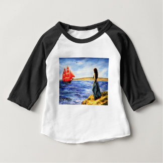 T-shirt Pour Bébé Voiles d'écarlate