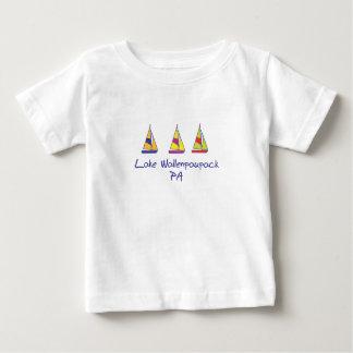T-shirt Pour Bébé Voiliers de Wallenpaupack de lac
