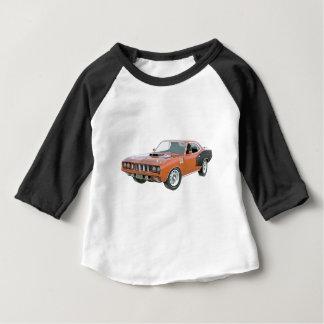 T-shirt Pour Bébé Voiture de muscle de 1971 oranges