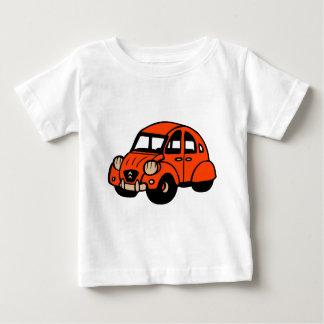 T-shirt Pour Bébé voiture française vintage de 2 cv