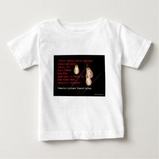 T-shirt Pour Bébé Vol des idées
