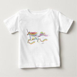 T-shirt Pour Bébé Voler de poney de cheval de Pegasus de licorne