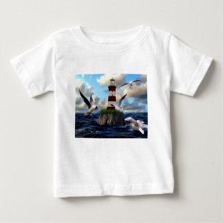 T-shirt Pour Bébé Voler d'oiseaux de phare