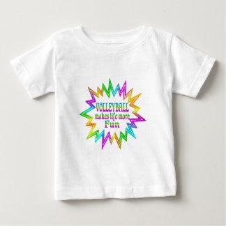 T-shirt Pour Bébé Volleyball plus d'amusement