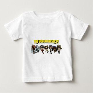 T-shirt Pour Bébé Voluntaryist comique - caractères de Chibi
