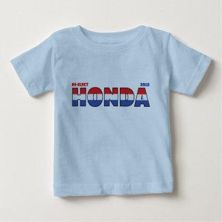 T-shirt Pour Bébé Vote Honda 2010 élections blanc et bleu rouges