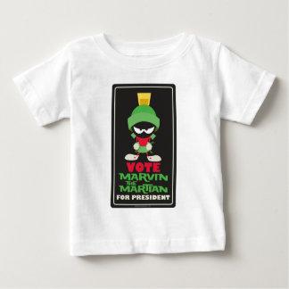 T-shirt Pour Bébé Vote MARVIN LE MARTIAN™ pour le président