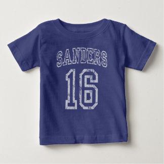 T-shirt Pour Bébé Vote pour les ponceuses 2016 de Bernie