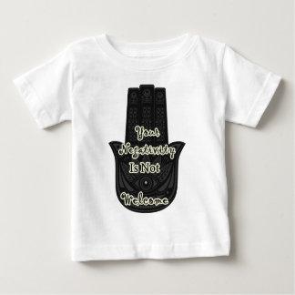 """T-shirt Pour Bébé """"Votre négativité n'est pas"""" conception voulue de"""
