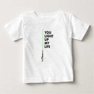 T-shirt Pour Bébé Vous allumez ma chemise d'enfant en bas âge de la