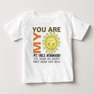 T-shirt Pour Bébé Vous êtes mon soleil