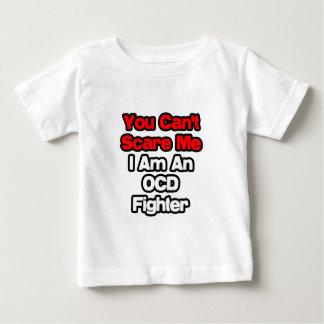 T-shirt Pour Bébé Vous ne pouvez pas m'effrayer… combattant d'OCD