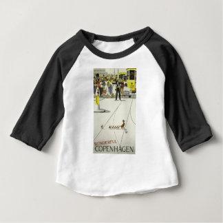 T-shirt Pour Bébé Voyage vintage Copenhague Danemark