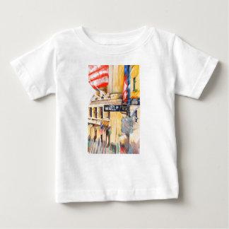T-shirt Pour Bébé Wall Street I