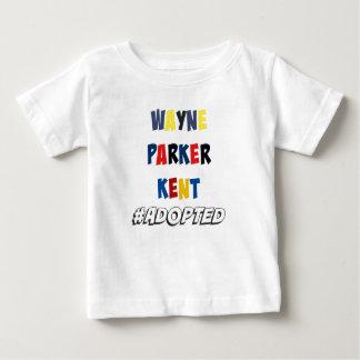 T-shirt Pour Bébé Wayne, Parker, Kent #Adopted l'adoption de super