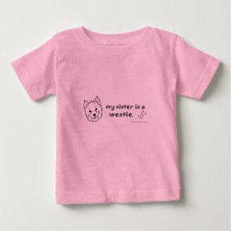T-shirt Pour Bébé westie