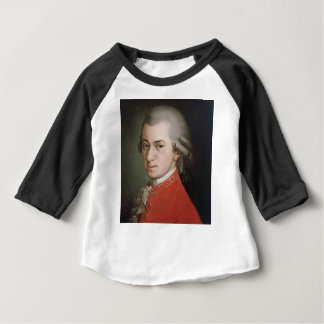 T-shirt Pour Bébé Wolfgang Amadeus Mozart