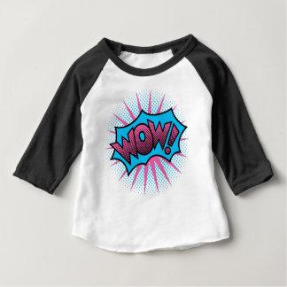 T-shirt Pour Bébé WOUAH ! Conception des textes
