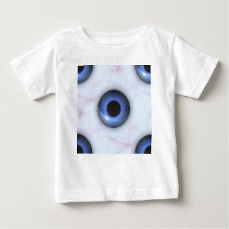 T-shirt Pour Bébé yeux bleus déplaisants