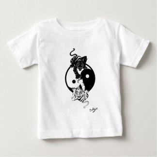 T-shirt Pour Bébé Ying yang tiger