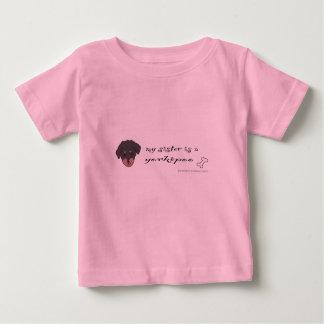T-shirt Pour Bébé yorkipoo