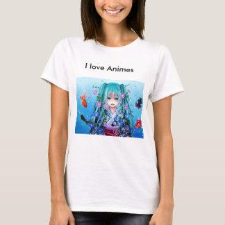 T-shirt Pour des Anime amants vrais :]