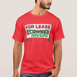 T-shirt Pour humoristique drôle de bail Navidad - de Feliz