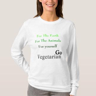 T-shirt Pour la terre, pour les animaux, pour vous-même,…