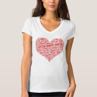 """T-shirt """"Pour l'amour chemise de contredanse écossaise"""""""
