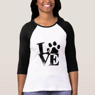 T-shirt Pour l'amour des chiens