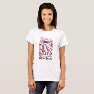 T-shirt Pour l'amour du ballet