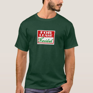 T-shirt Pour le bail : Navidad
