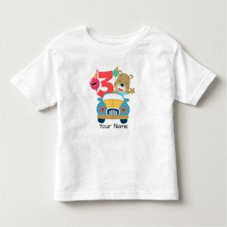 T-shirt Pour Les Tous Petits 3ème Ours d'anniversaire