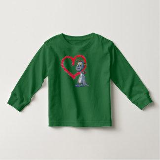 T-shirt Pour Les Tous Petits Aimez ma pièce en t de dragon d'animal familier