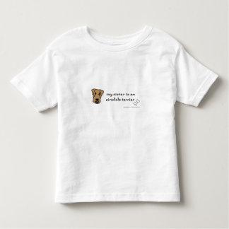 T-shirt Pour Les Tous Petits airedale